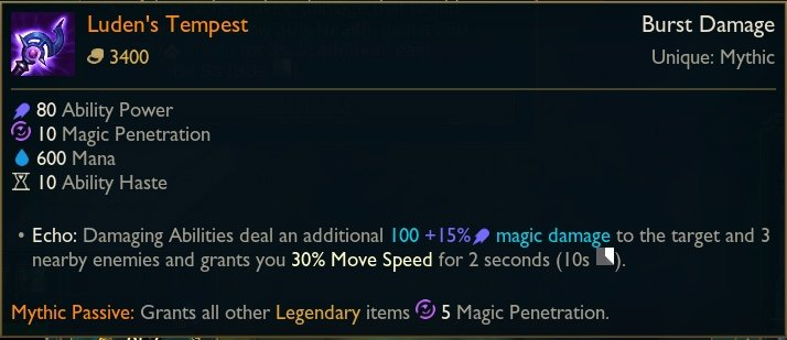 Luden's-Tempest-Mage-Mythic-Item