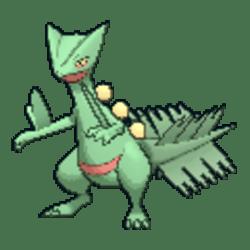 Sceptile Pokemon Sword and Shield