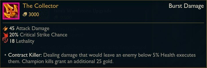 The-Collector-New-Legendary-Item-LoL