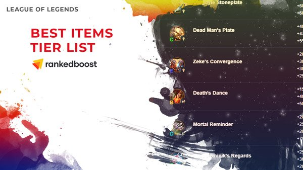 LoL-Best-Items-Tier-List