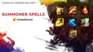 League of Legends Wild Rift Summoner Spells