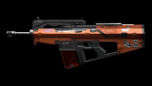Assault Rifle Cyberpunk 2077