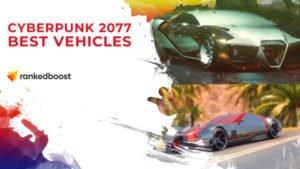 Cyberpunk 2077 Vehicles