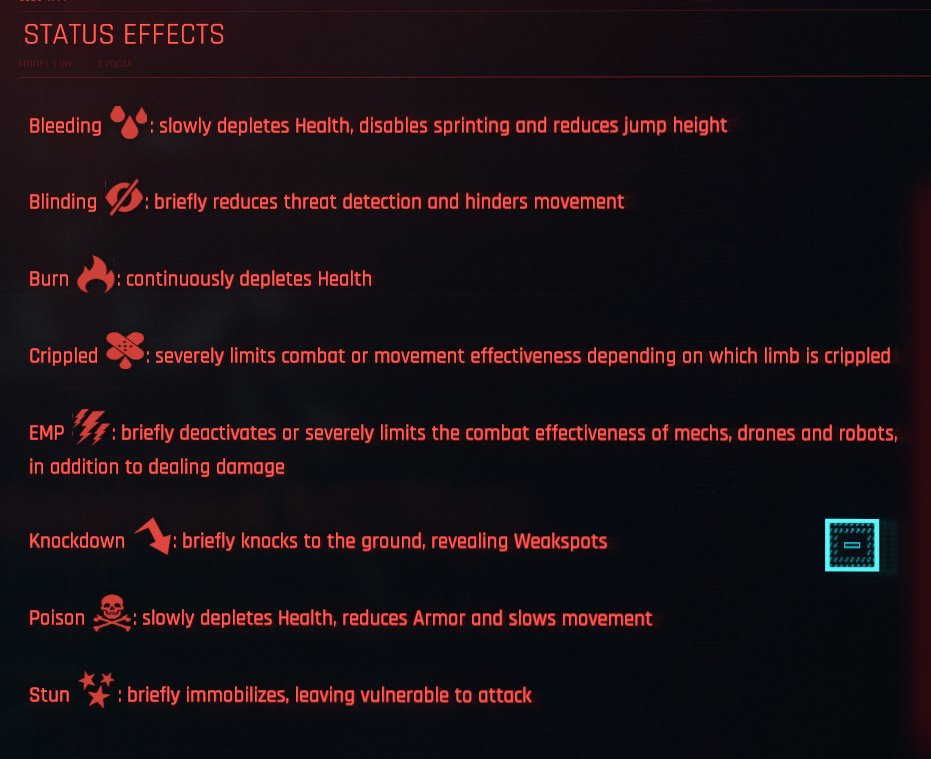 Cyberpunk-2077-Status-Effects-and-what-they-do