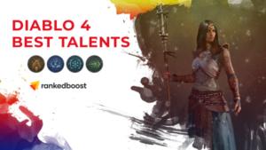Diablo 4 Sorceress Best Talents