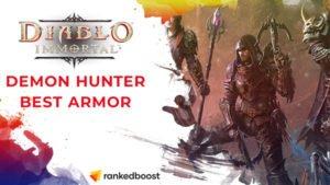 Diablo Immortal Best Demon Hunter Armor