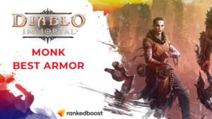 Diablo Immortal Best Monk Armor