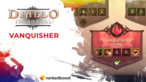 Diablo Immortal Best Vanquisher Talents