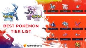 Pokemon Diamond and Pearl Best Pokemon Tier List