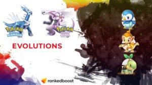 Pokemon Diamond and Pearl Evolution