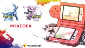 Pokemon Diamond and Pearl Pokedex