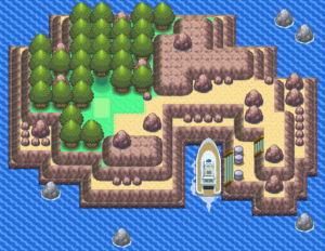 Pokemon Diamond and Pearl Newmoon Island Guide