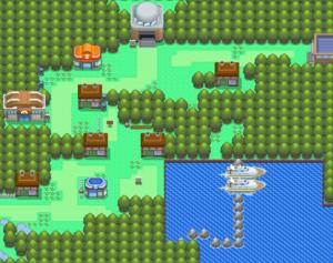 Pokemon Diamond and Pearl Pastoria City Guide
