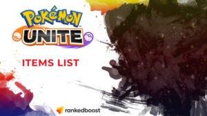 Pokemon Unite Items