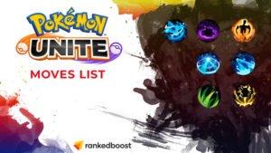 Pokemon Unite Moves