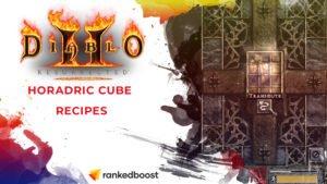 Diablo 2 Horadric Cube Recipes