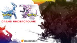 Pokemon Brilliant Diamond and Shining Pearl Grand Underground