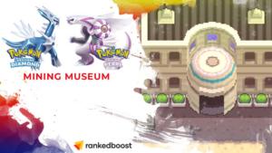 Pokemon Brilliant Diamond and Shining Pearl Mining Museum