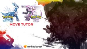 Pokemon Brilliant Diamond and Shining Pearl Move Tutor